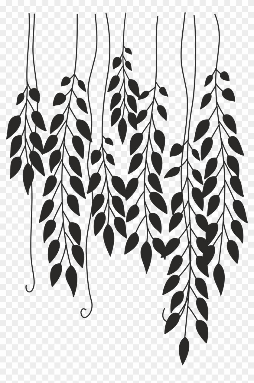Dibujo Para Imprimir - Flores Vintage Blanco Y Negro Png #1105781