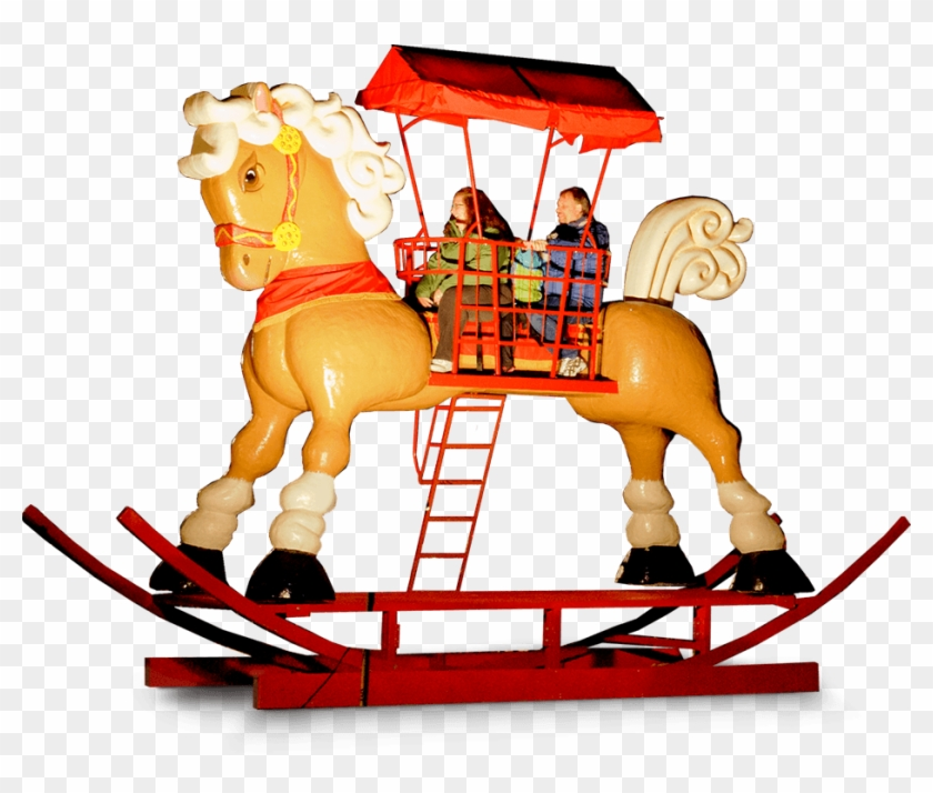 World's Largest Rocking Horse - Winter Festival #1106233