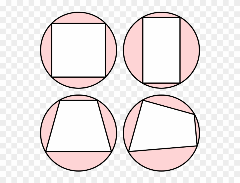 Cyclic Quadrilaterals - Draw A Circle Diamond #1106242