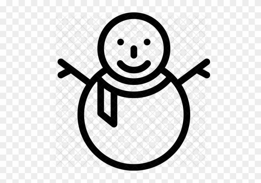 Christmas, Snowman, Winter, Holiday, Celebrate Icon - Snowman #1106257