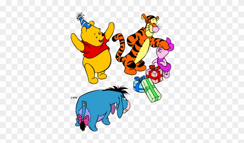 Disney Cliparts Birthday Clip Art Of Tigger Birthday Free