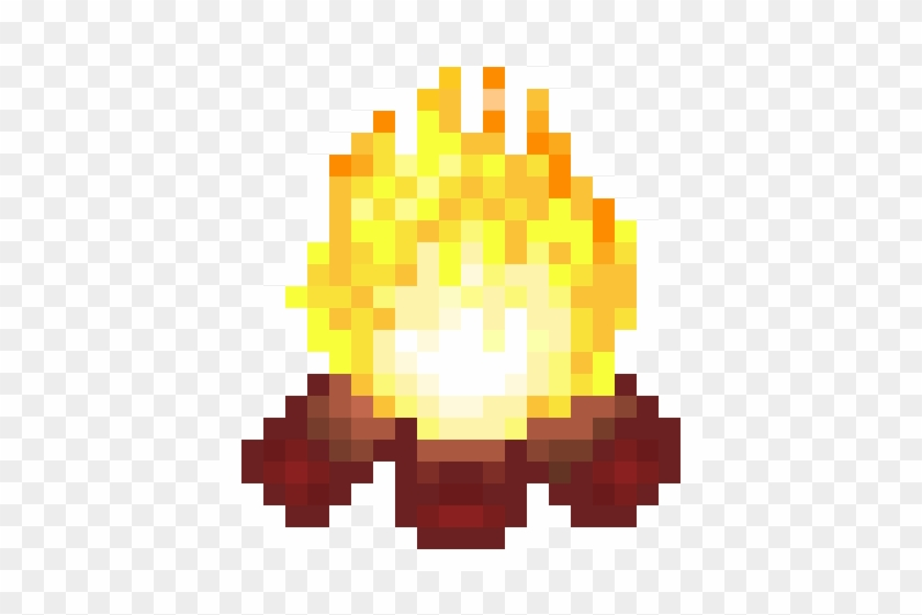 Fire Camp Pixel Art From The Video Games Pack Of Picroad