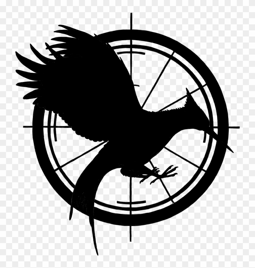 Mockingjay Pin Drawing At Getdrawings Com Free For - Catching Fire Chapter 2 #1107862