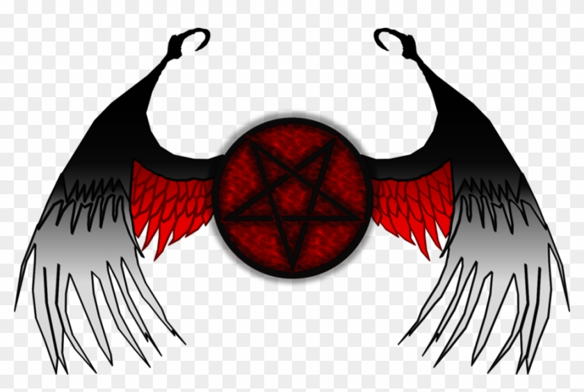 Dark Angel Drawing Dark - Fallen Angel Logo #1108161