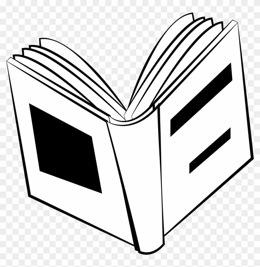 Png Image - Open Book Drawing - Free Transparent PNG Clipart