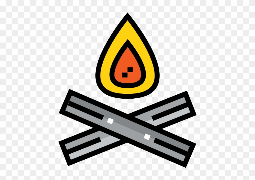 Free Nature Icons Campfire Icon - Camping #1108441