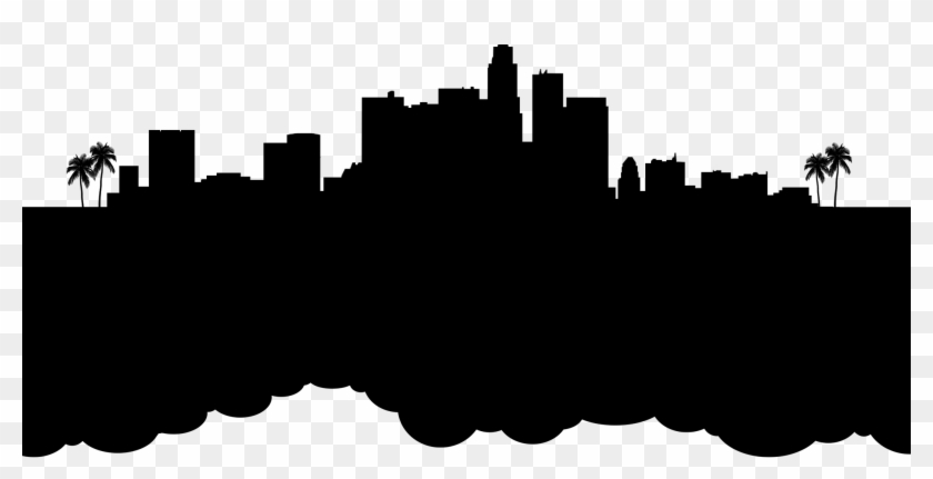 Hollywood Heartbreak Official Website - Los Angeles Skyline Silhouette Png #1108468