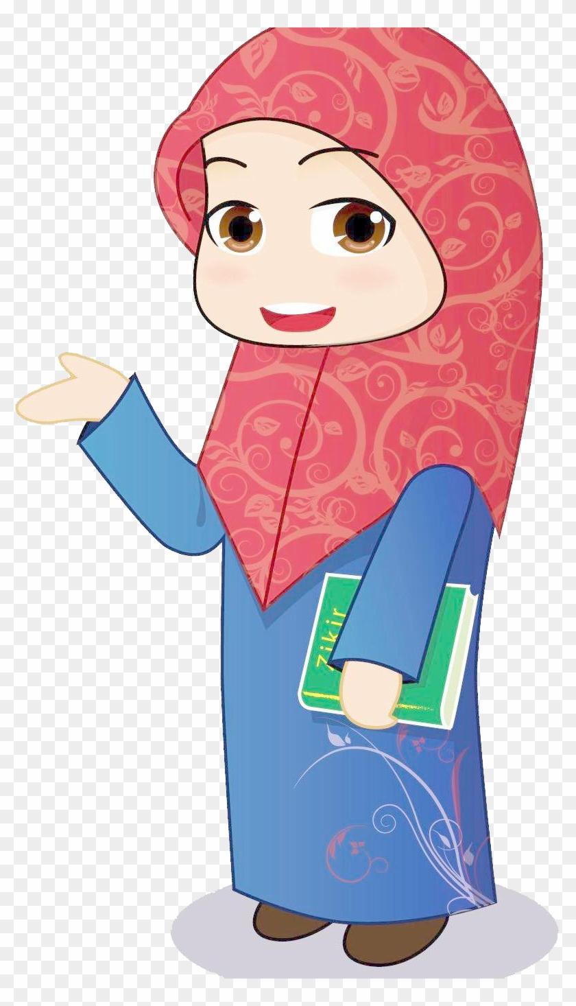Women In Islam Muslim Girl Clip Art - Muslim Girl Clip Art #1109135