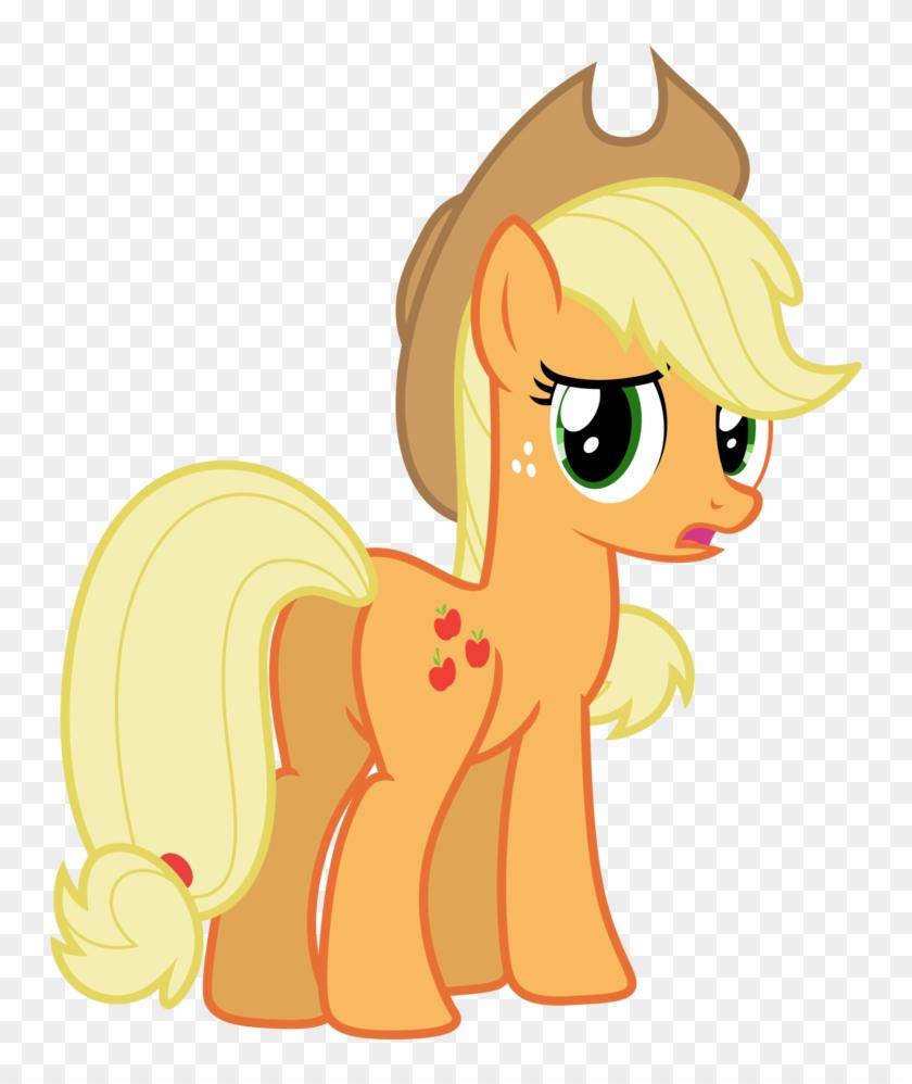 Vector Applejack 57 By Estories On Deviantart Rh Estories - My Little Pony Princess Applejack #1111160