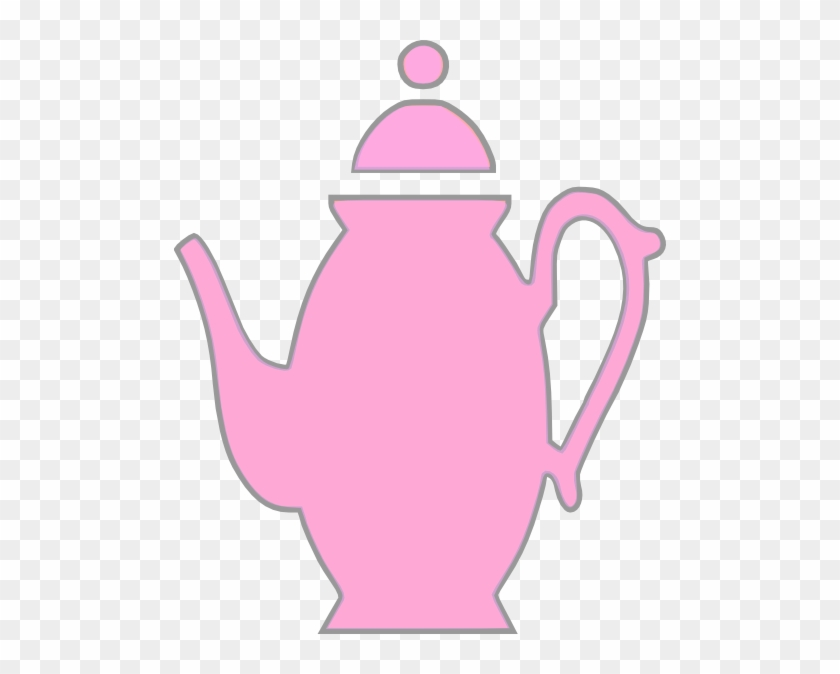 Pink Teapot Clip Art At Clker Com Vector Clip Art Online - You Can T Be Everybody's Cup Of Tea #1111297