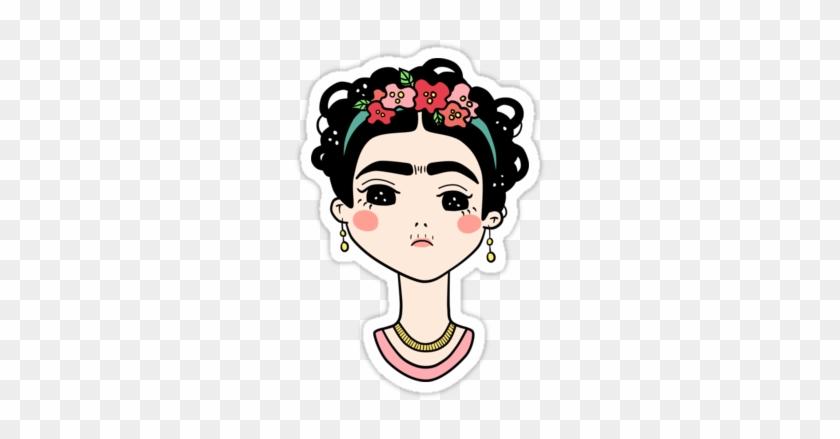 U1 Frida Kahlo Stickers Free Transparent Png Clipart Images Download
