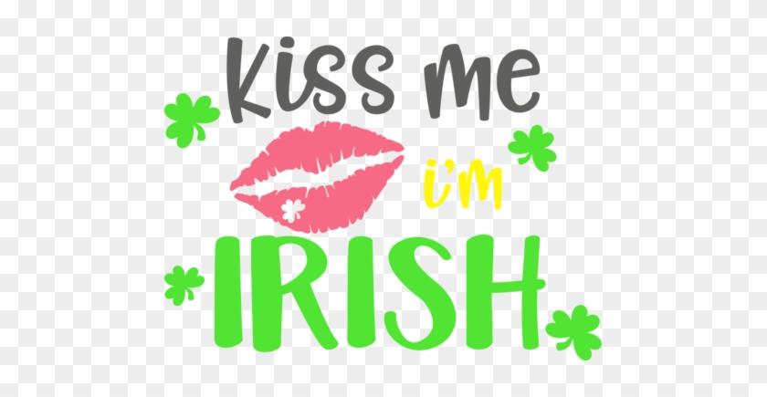 Kiss Me- I'm Irish - Lips Clip Art #1111816