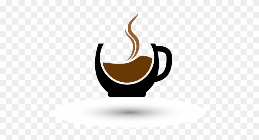 Coffee Espresso Tea Cafe Logo - Abstract Coffee Mugs #1112084