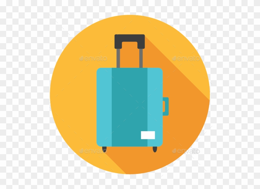 Image Set/png/128x128 Px/suitcase Icon - Suitcase Icon Flat Png #1112903