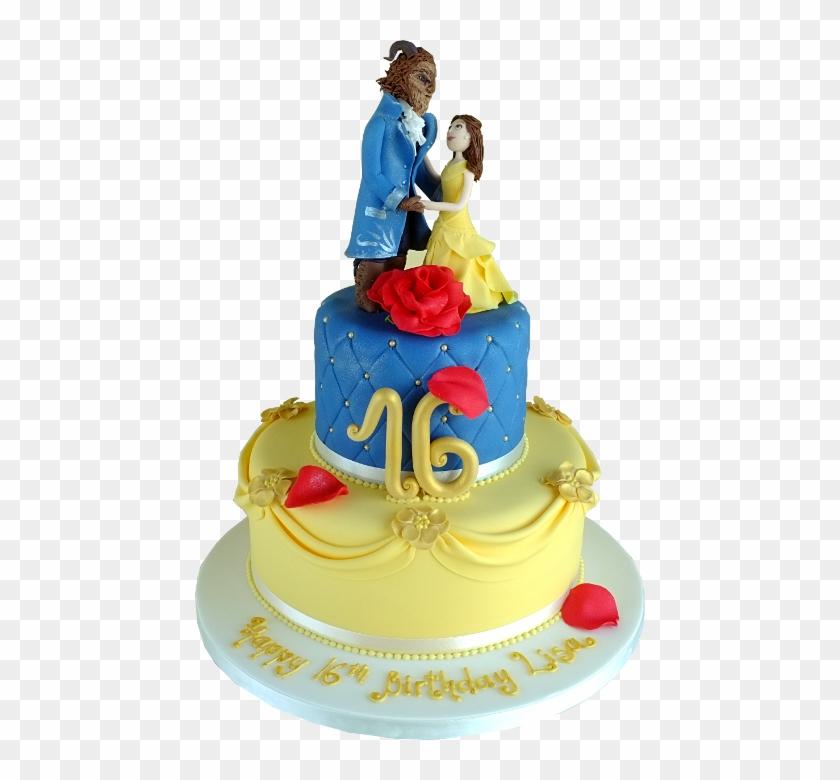 Superb Beauty And The Beast Birthday Cake Mallow Limerick Limerick Funny Birthday Cards Online Elaedamsfinfo