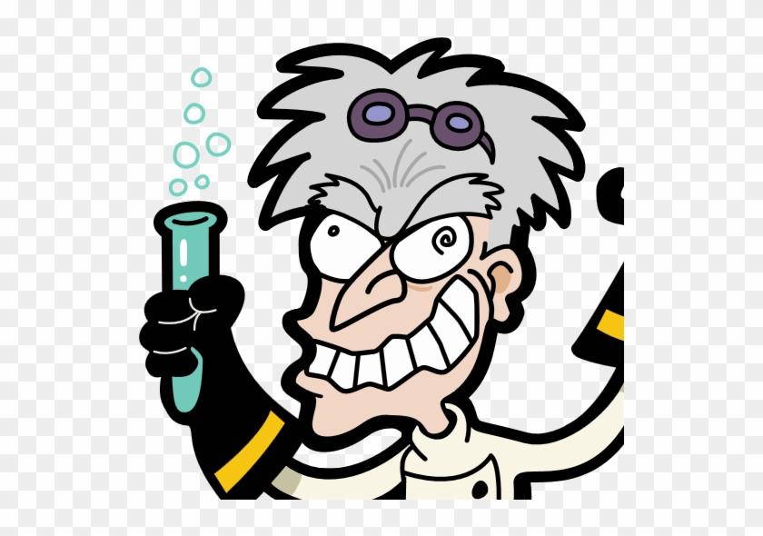 Mad Scientist Science Laboratory Clip Art - Mad Scientist #1113397