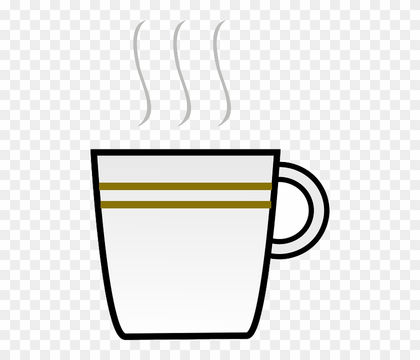 Water Black Icon Food Steaming Outline Drawing Coffee Cup Clip Art Free Transparent Png Clipart Images Download