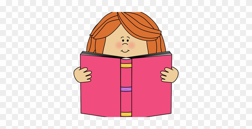 Library Media Specialist - Reading A Book Clipart #1117195