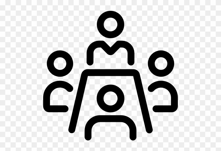 Meeting - Meeting Room Icon Png #1117637