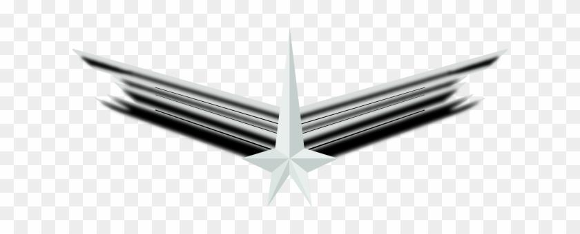 Star Trek Pilot Wings Clipart - Star Trek Pilot Wings - Free