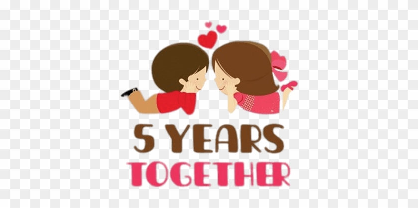 5 Years Anniversary Couple 3 Years Anniversary Free Transparent Png Clipart Images Download