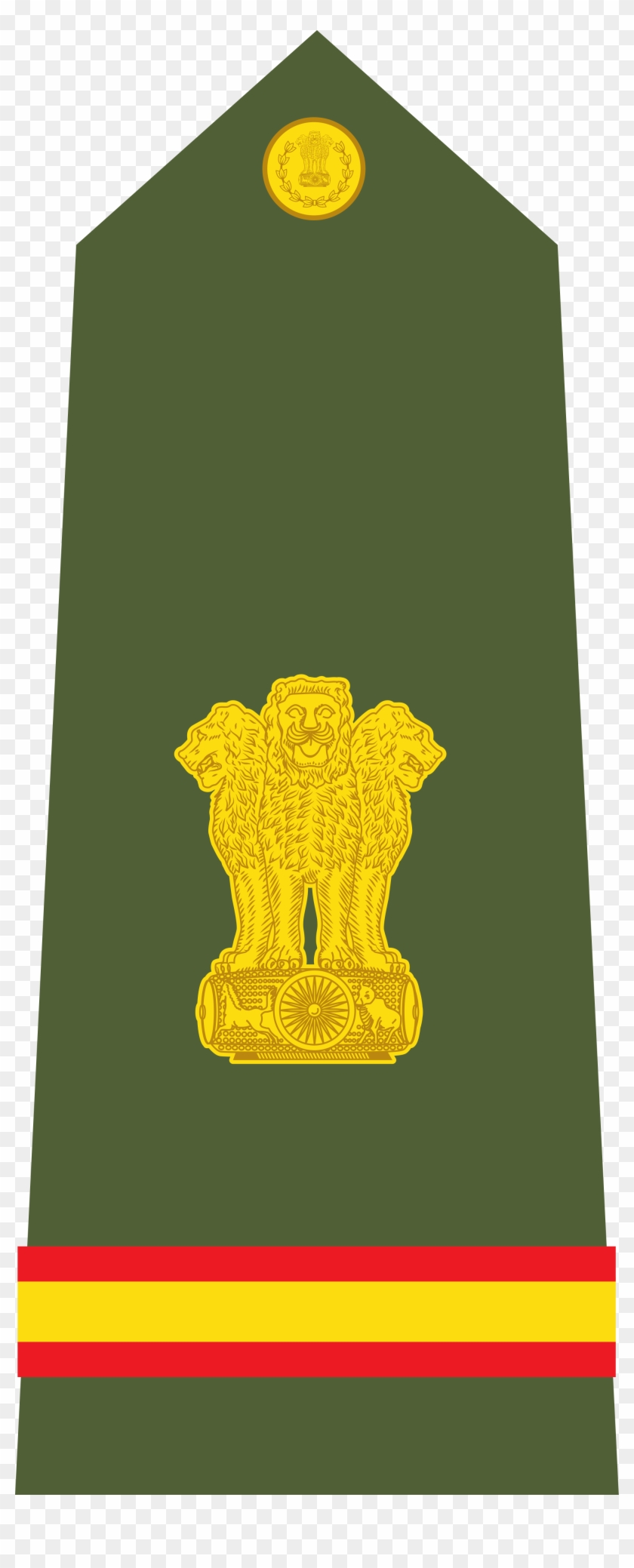 Indian Army Logo 7, Buy Clip Art - Subedar Rank In Indian