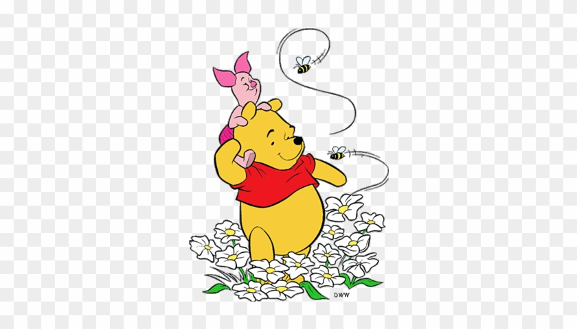 Disney Bee Cliparts Pooh Bear Coloring Pages Free Transparent