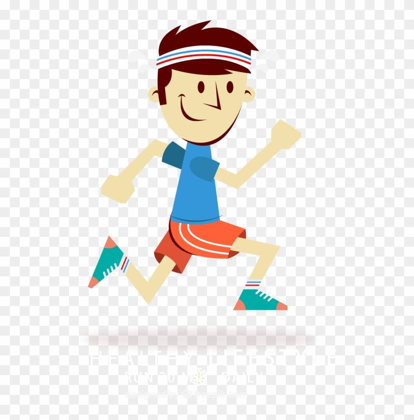 Running Cartoon png download 1000*1000 Free Transparent