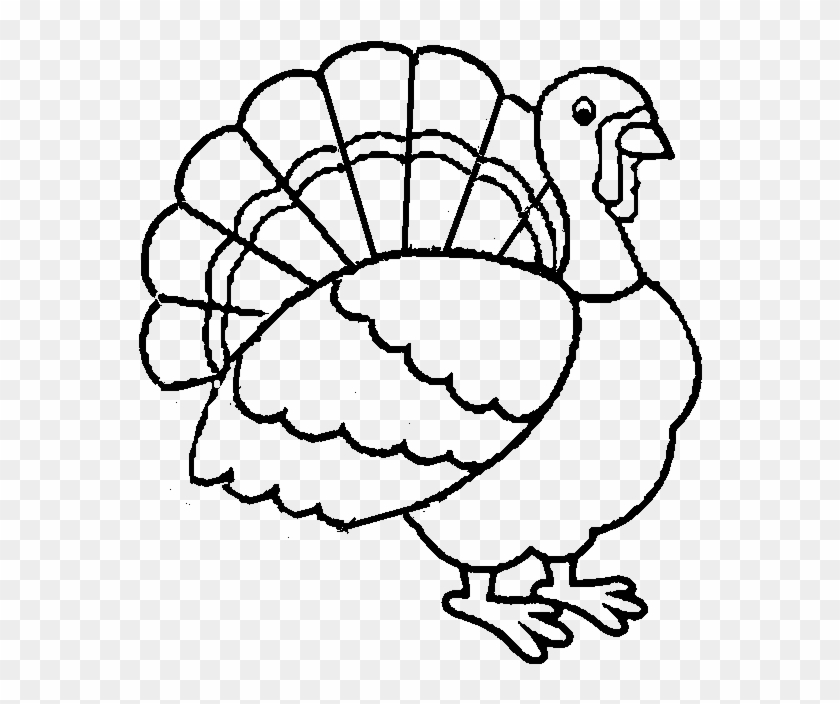 picture about Thanksgiving Printable Coloring Pages titled Least complicated Turkey Printable Coloring Internet pages For Children Boys