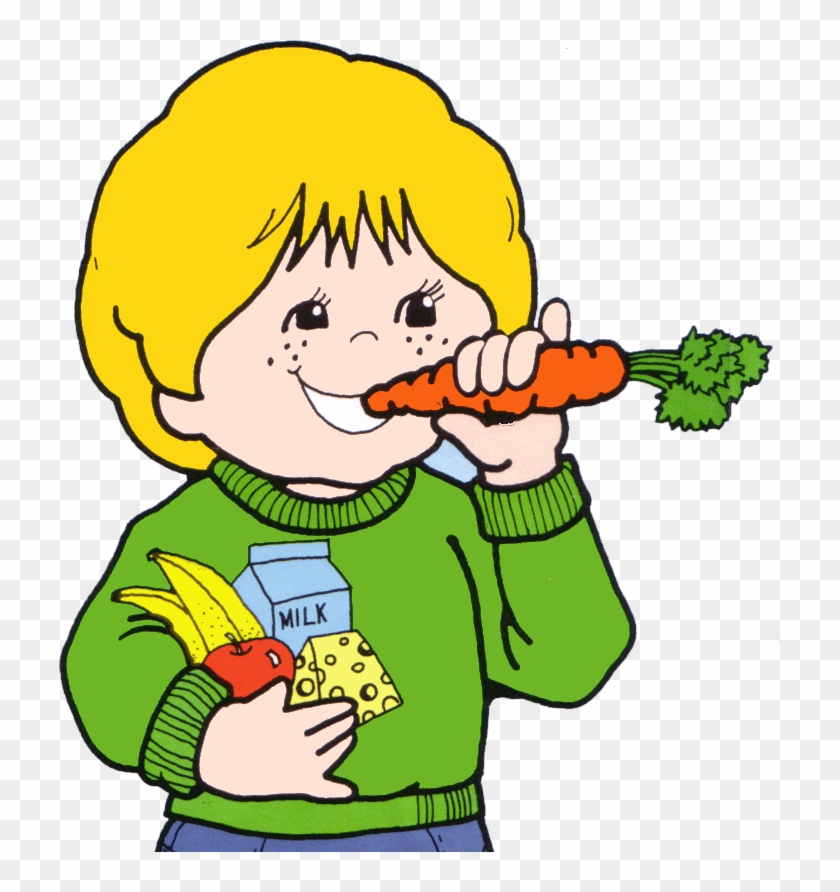 Healthy Eating Pictures - Eating Healthy Food Clipart #1121147