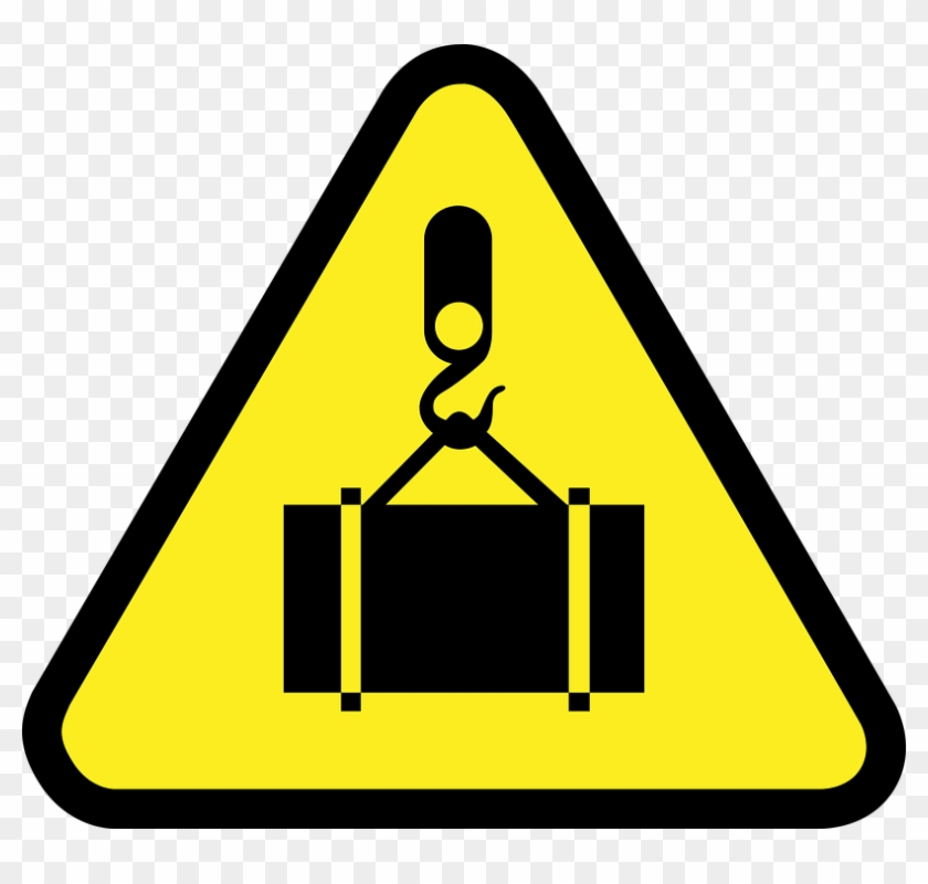 Food Safety Clipart 5, Buy Clip Art - Crane Hoist Warning