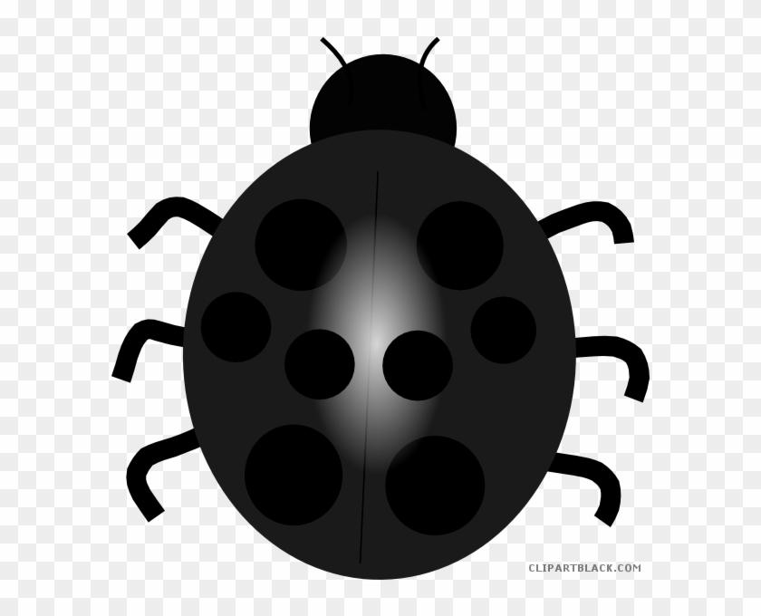 Ladybug Animal Free Black White Clipart Images Clipartblack - Blue Lady Bug Clip Art #1122639