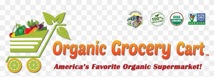 Organic Grocery Cart - Organic Food #1122873