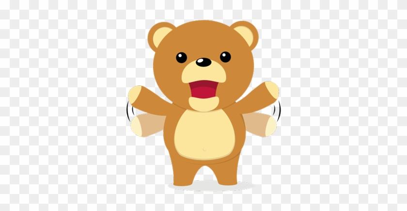 Cuddle Teddy Bear Stickers Messages Sticker-7 - Teddy Bear #1123637