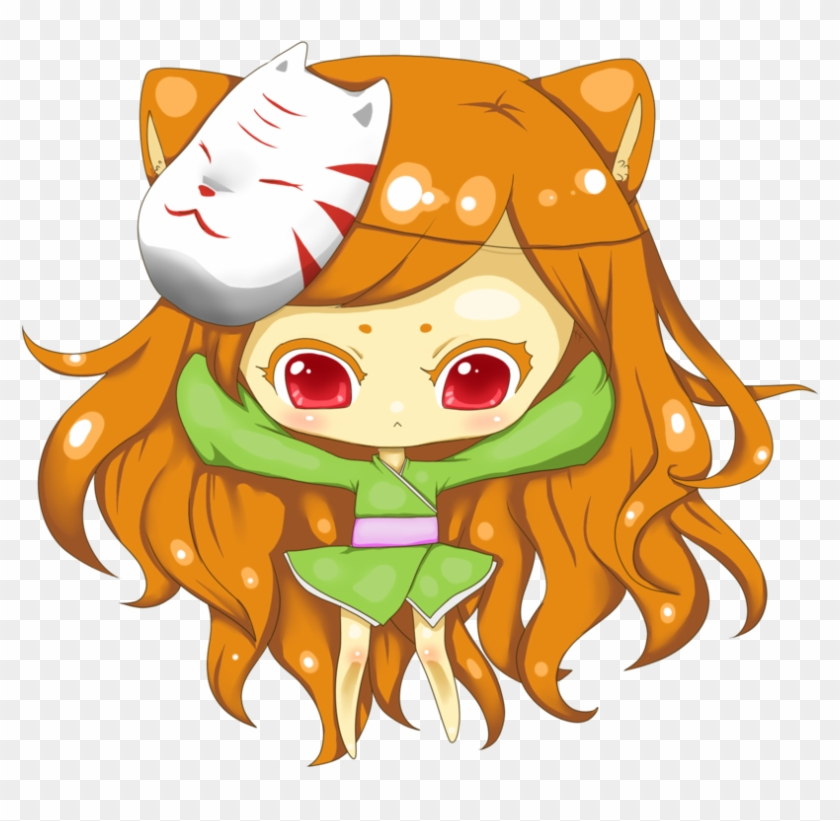 Fox Girl Chibi For Kids