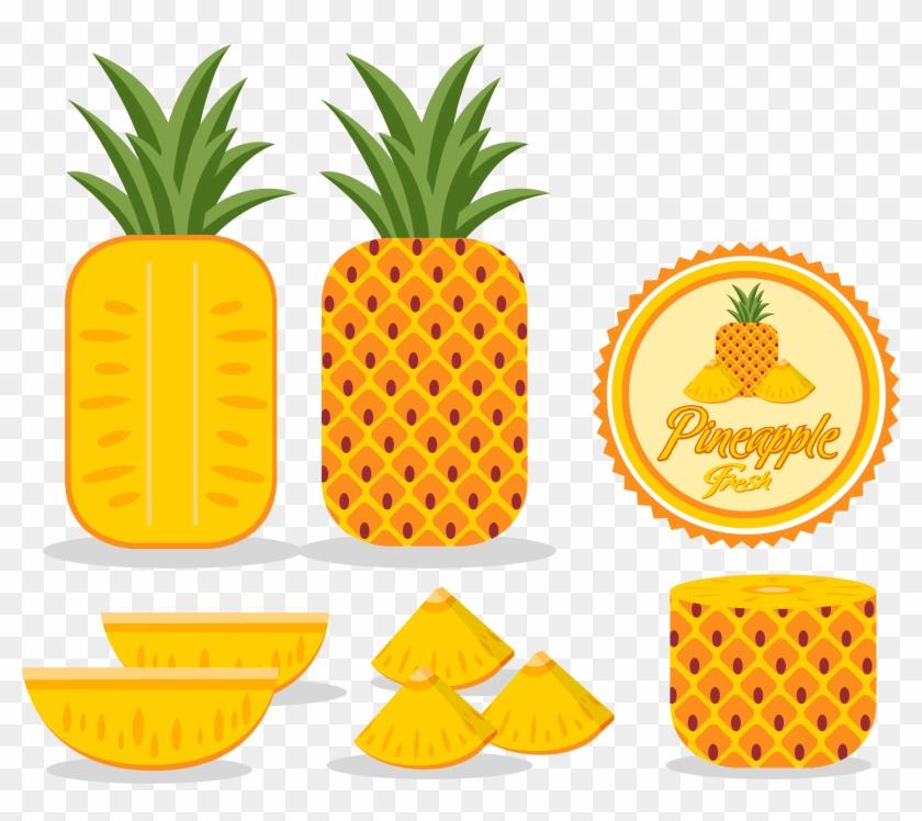 Pineapple Adobe Illustrator Logo - Fruit #1125000