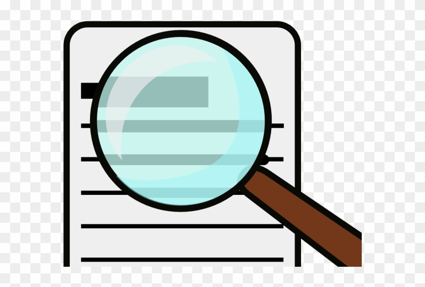 I've Been Writing And Learning About Writing For A - Magnifying Glass Clipart #1125008
