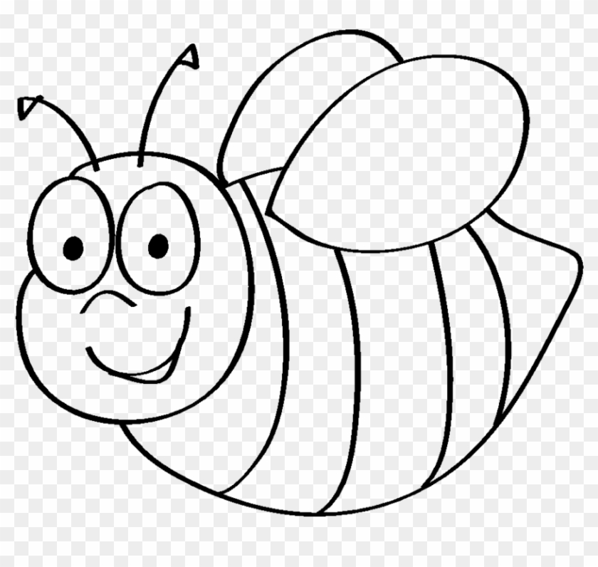 Free Cartoon Bee Coloring Page, Download Free Clip Art, Free Clip ... | 796x840