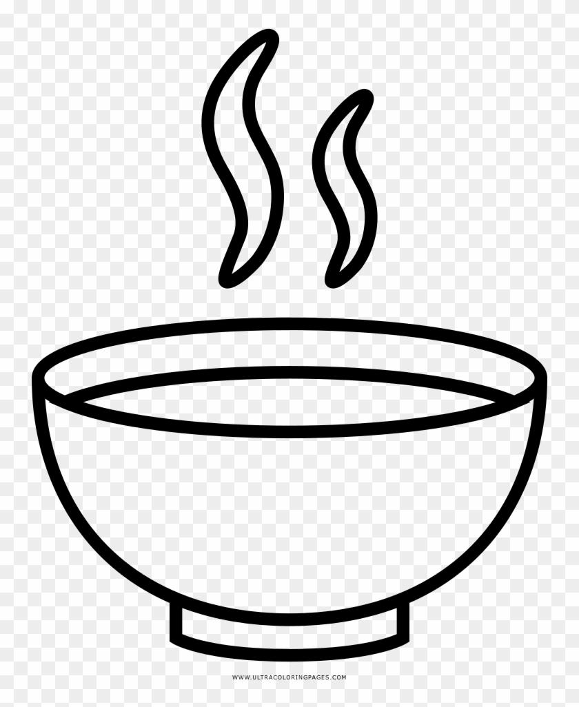 Coloring Book Drawing Noodle Soup Clip Art Dibujos De Sopa