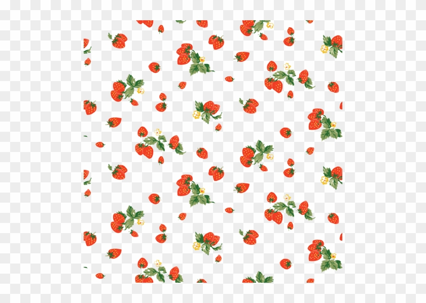 Milkshake Strawberry Shortcake Fruit Pattern - Cute Strawberry Background #1125616
