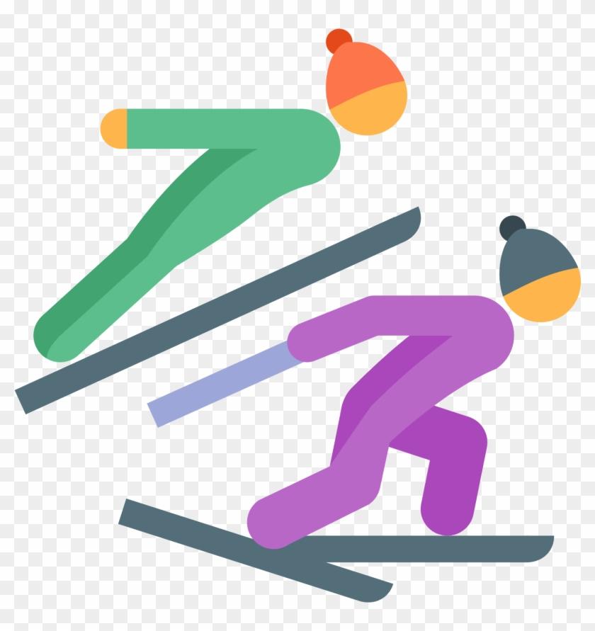 Лыжное двоеборье картинки для детей