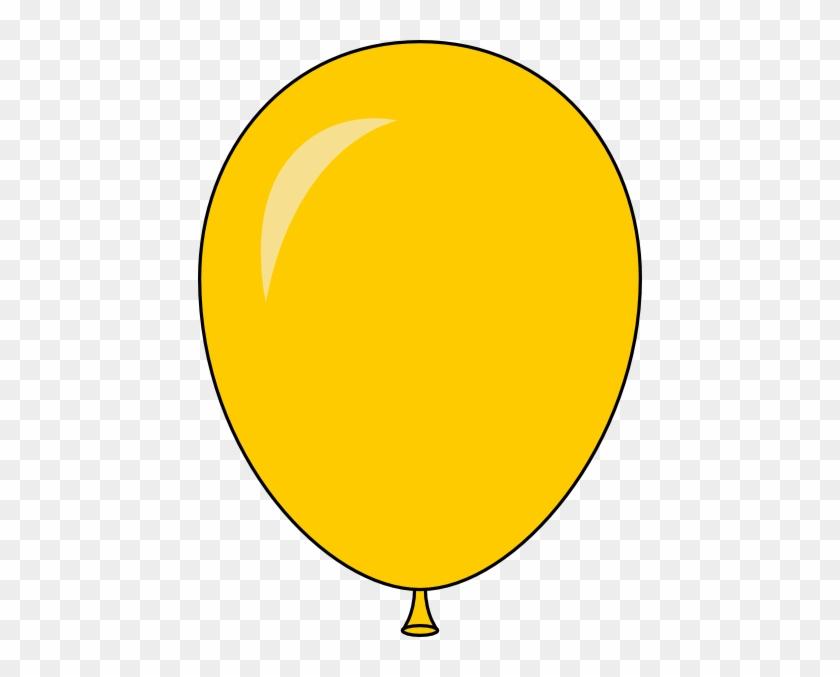New Yellow Balloon Light Lft Clip Art At Clker Com - Balloon Yellow Clipart #1125694