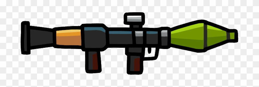 Rpg Su - Scribblenauts Weapons - Free Transparent PNG