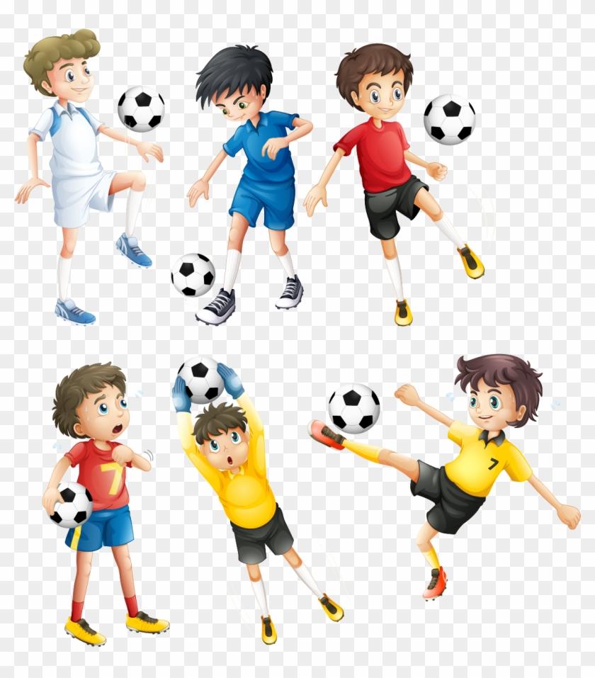 Football Player Clip Art - Wonder Why? Merak Ediyorum Serisi 3 #1126125