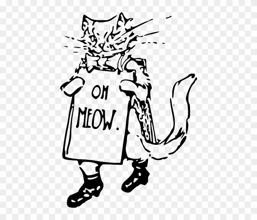 cat sign drawing kitten holding walking whiskers cewek dan kucing drawing free transparent png clipart images download cat sign drawing kitten holding