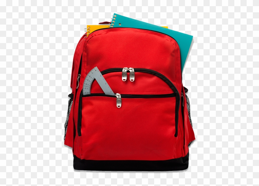 Thank You For Your Generosity - Back Pack With School Items #1127246