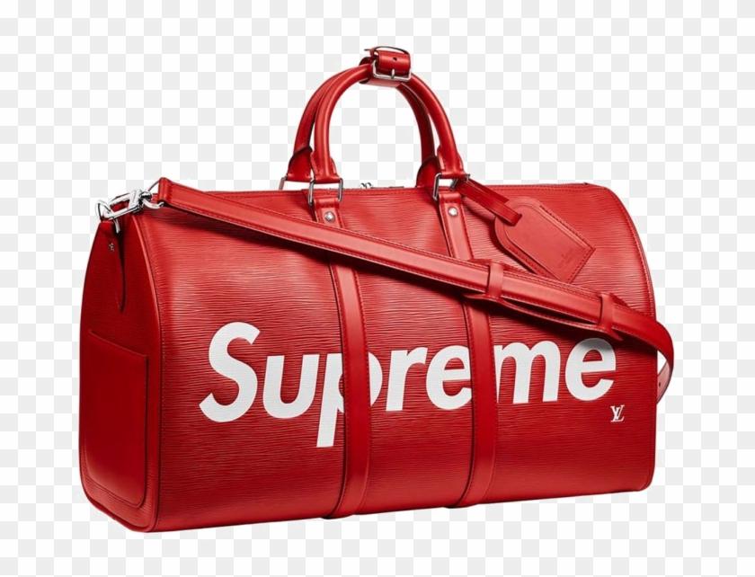 Duffle Bag Png Download Image Supreme X Louis Vuitton Free