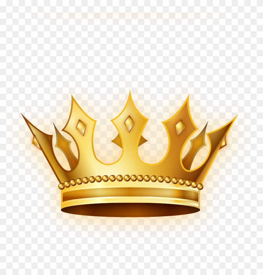Corona Clip Art - Golden Crown .png #1127890