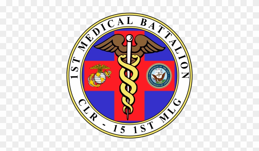 1st Medical Battalion Emblem