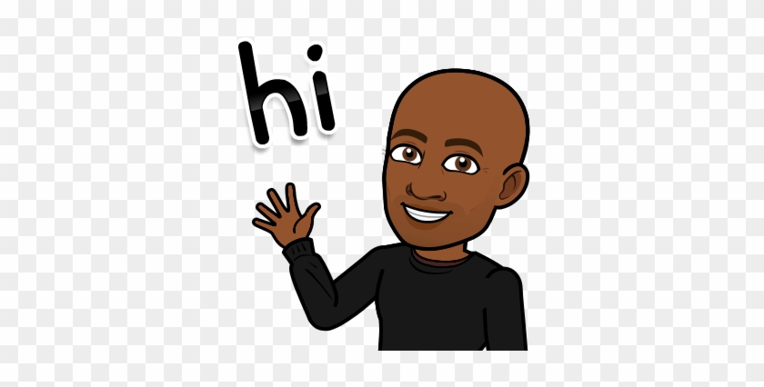 Lets Get Started Bitmoji With Brown Hair Free Transparent Png